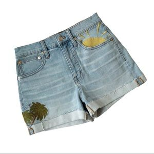 Madewell Embroidered Shorts 24